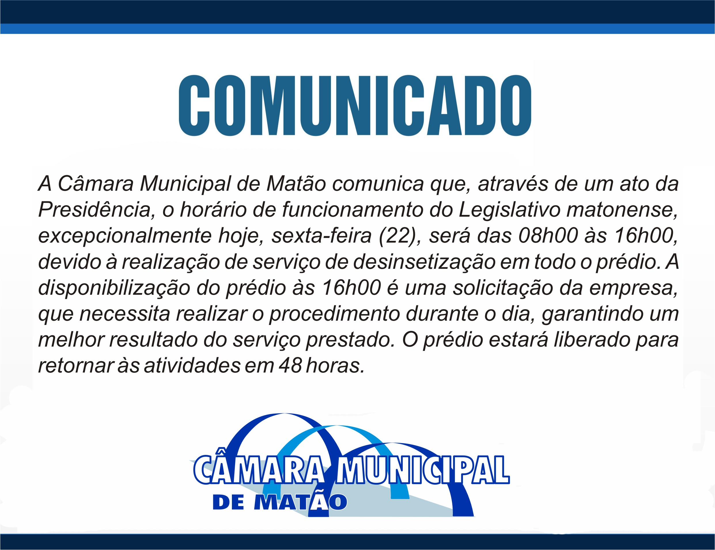 Noticia comunicado
